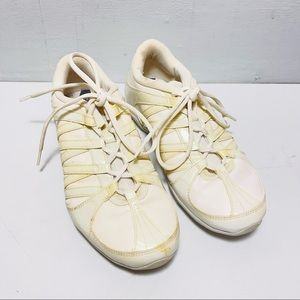 Nike Lace up Ivory Non-Marking Sneakers Women's 8